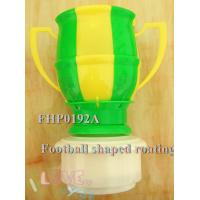 Buy cheap music candles football shape music candles birthday candles Football shape rotating from wholesalers