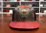 Buy cheap Chinese style Customized Design printing phoenix logo scale flat bill Sports Snapback Hats Caps from wholesalers