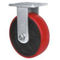 Buy cheap iron cast pu caster,Pu on iron caster,heavy duty caster from wholesalers