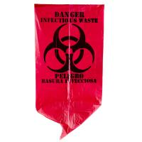 Buy cheap Red Infectious Waste Recyclable Garbage Bags 7 Gallon Gravure Printing from wholesalers