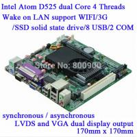 Buy cheap M58-D52 Atom D525 Industrial MINI ITX Motherboard With SIM Slot from wholesalers