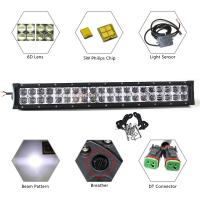 Super Bright Automotive Led Light Bars Dual Row 200W 22 Inch 6D Beam Manufactures