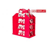 Buy cheap Offset Printing Cardboard Pallet Display Stand For Holiday Stationery from wholesalers