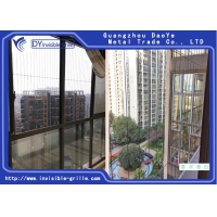 Buy cheap Aluminum Track 316 SS Nylon Coating Balcony Invisible Grille from wholesalers
