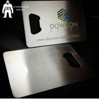Wholesale Metal Beer Bottle Opener Business Card ,  Poker Card Bottle Opener  Promotional from china suppliers