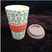 Buy cheap 16OZ Cheap Tall ECO Unbreakable Custom Printing Colorful Bamboo Coffee Mug from wholesalers