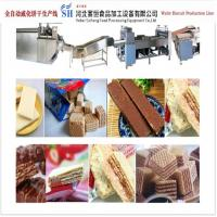 Buy cheap Wafer Biscuit Making Machine Wafer Production Line Machinery from China from wholesalers