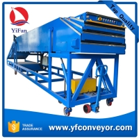 Wholesale Dockless Telescopic Loading Conveyor with Inclined Belt Conveyor Tail from china suppliers