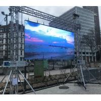 Wholesale 200-800W Outdoor Stage Rental LED Video Wall , Rental Led Display Screen P3.91 from china suppliers