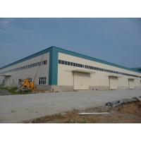 Buy cheap Sandwich Panels Arounded Steel Sheds Size 70' x 40' With H Prifile Beams from wholesalers