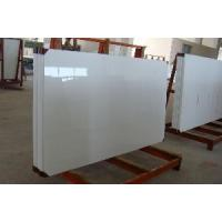 Buy cheap Decorative White Man Made Stone Panel from wholesalers