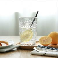Buy cheap Hot selling recycled colored juice glass cup/ drinking glasses from wholesalers