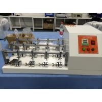 Buy cheap ISO 108X12 , AATCC8 12 Samples BALLY Flexometer Test Machine for Fabric / from wholesalers