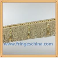 Buy cheap High quality bullion fringes trimmings for home textiles sofa pillow cushion decoration from wholesalers