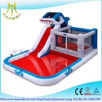 Buy cheap Hansel commercial High quality inflatable super slide with cheaper price water pool slide from wholesalers