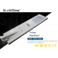 Buy cheap Intelligent Solar Powered Road Lights LED Built - In PIR Motion Sensor from wholesalers