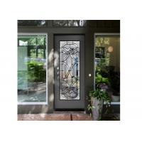 Buy cheap Antique Decorative Panel Glass , Solid Flat Tempered Glass Panels For Building from wholesalers