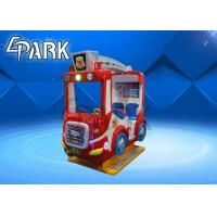 Buy cheap English Version Fire Truck Kiddy Ride Machine Children Swing Car coin pull game machine for sale from wholesalers