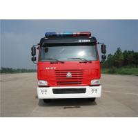 Wholesale Sinotruk Six Seats Water Tanker Fire Truck Pump Flow 60L/S Aluminum Water Tank 5684L from china suppliers