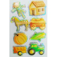 Buy cheap Shinning Decor Small Hologram Stickers Sheets , Personalized Hologram Stickers from wholesalers