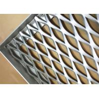 Buy cheap Expanded Type Decoration Aluminum Mesh Panel For Facade Cladding System 600X1000 from wholesalers