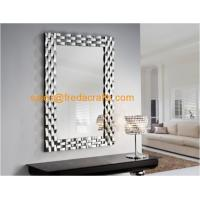 Buy cheap Modern Style Rectangular Living Room Wall Mounted Glass Mirror 810*1150mm Wholesale from wholesalers