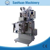 Four Sides Sealing Alcohol Prep Pad Packing Machine With Double Line Output