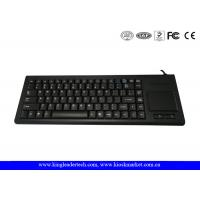 Buy cheap 87 Keys Plastic Industrial Keyboard with Optical Touchpad , USB or PS / 2 from wholesalers