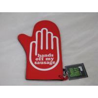Wholesale Durable Silkscreen Kitchen Oven Mitts , Novelty Neoprene Insulation Gloves from china suppliers