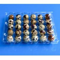 Buy cheap Disposable plastic quail egg tray 30 holes quail egg tray plastic egg tray for quail eggs 30 slots from wholesalers