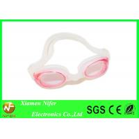 Buy cheap Anti Fog Kids  Clear Lens Silicone Swimming Goggles for Spa , Swim Pool Diving Goggles from wholesalers