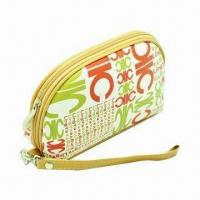 Buy cheap PVC Zipper Bag, Ideal for Cosmetics, Customized Requirements or Samples Accepted product