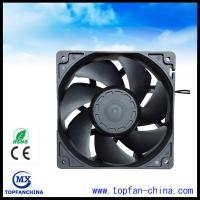 Buy cheap Low Noise AC 220V Air Conditioner / Fridge Cooling Fan 120mm x 38mm fan from wholesalers