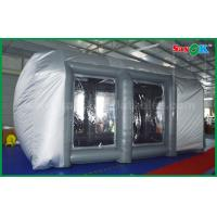 Buy cheap Waterproof Cutomized Inflatable Air Tent / PVC Inflatable Spray Booth For Car Paint Spraying from wholesalers