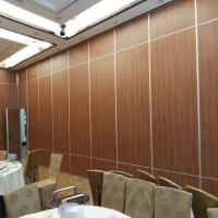Buy cheap Hotel Movable Wall Wooden Hanging Folding Banquet Hall Acoustic Partition Walls Thailand from wholesalers