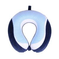 Buy cheap U - Shape Memory Foam Neck Pillow , Memory Foam Travel Pillow For Adults from wholesalers