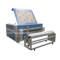Buy cheap Double Heads 1600*1000mm Co2 Fabric Laser Cutting Machine from wholesalers
