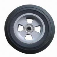 Buy cheap 8/10-inch Solid Rubber Wheel for Hand Trolley, Tool Cart, Machines from wholesalers