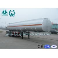 Buy cheap Carbon Steel Oil Tanker Trailer 2 Axle For Transportation Sinotruk Howo from wholesalers
