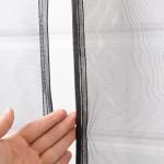 Buy cheap Heavy Duty Magnetic Door Mesh Net Curtain / Fiberglass Insect Screen Patio Door from wholesalers