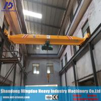 Buy cheap China Crane Manufacturer Single Girder Overhead Traveling Crane 20ton from wholesalers
