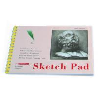 Buy cheap White Paper Pencil Sketch Pad Drawing Book , Spiral Sketch Drawing Pad from wholesalers