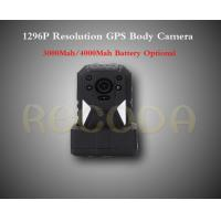 Buy cheap M505 1296P Resolution Police Body Worn Camera with GPS , 11 hours working time from wholesalers