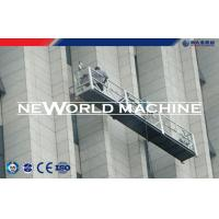 Wholesale Functional construction hoist elevator Swing Stage Scaffold Lift 630 - 1000KG from china suppliers
