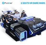 Buy cheap Attractive 6 Seats VR Cinema Theater 6 Seats 9D VR Simulator Dark Mars from wholesalers
