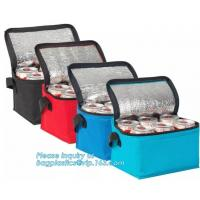 Buy cheap thermal cooler bags, food cooler bag, drink cooler bags, customization high quality exhibition non woven bags, cool bag from wholesalers