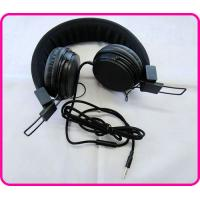 Buy cheap Black / Blue / Yellow Stereo Colorful Headphones, Hearing Protection Headphones For Mp3 Player from wholesalers