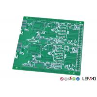 Wholesale 2 Layers Industrial PCB  FR - 4 Base Material / Dielectric LF-HALS Surface Treatment from china suppliers