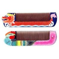 Chinese handcraft wooden comb gift