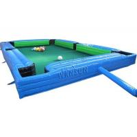 Buy cheap Waterproof Inflatable Sports Games Human Snooker Inflatable Table Game Wsp-186 from wholesalers